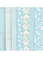 NOTTING HILL - 7 FAT QUARTER PACK - BLUES