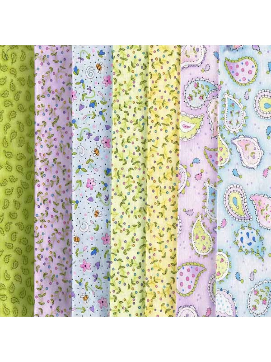 SUN KISSED - 7 FAT QUARTER PACK