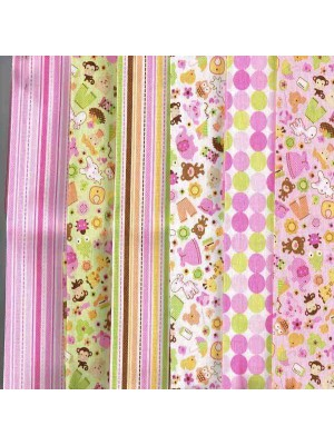 SWEET BABY GIRL - 6 FAT QUARTER PACK