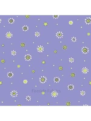 Birds House - Flower - purple