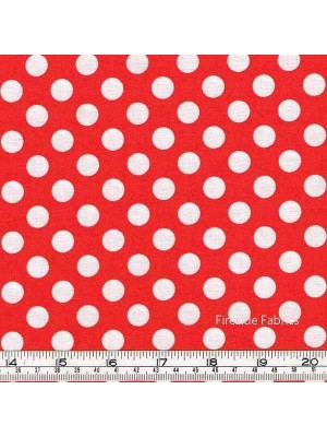 POLKA DOT - SIGNAL RED