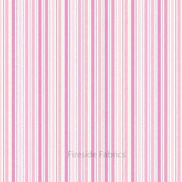 SWEET BABY GIRL - STRIPE - PINK