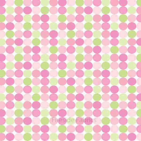 SWEET BABY GIRL - DOTS - PINK