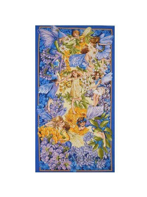 Dawn Till Dusk Flower Fairy Panel