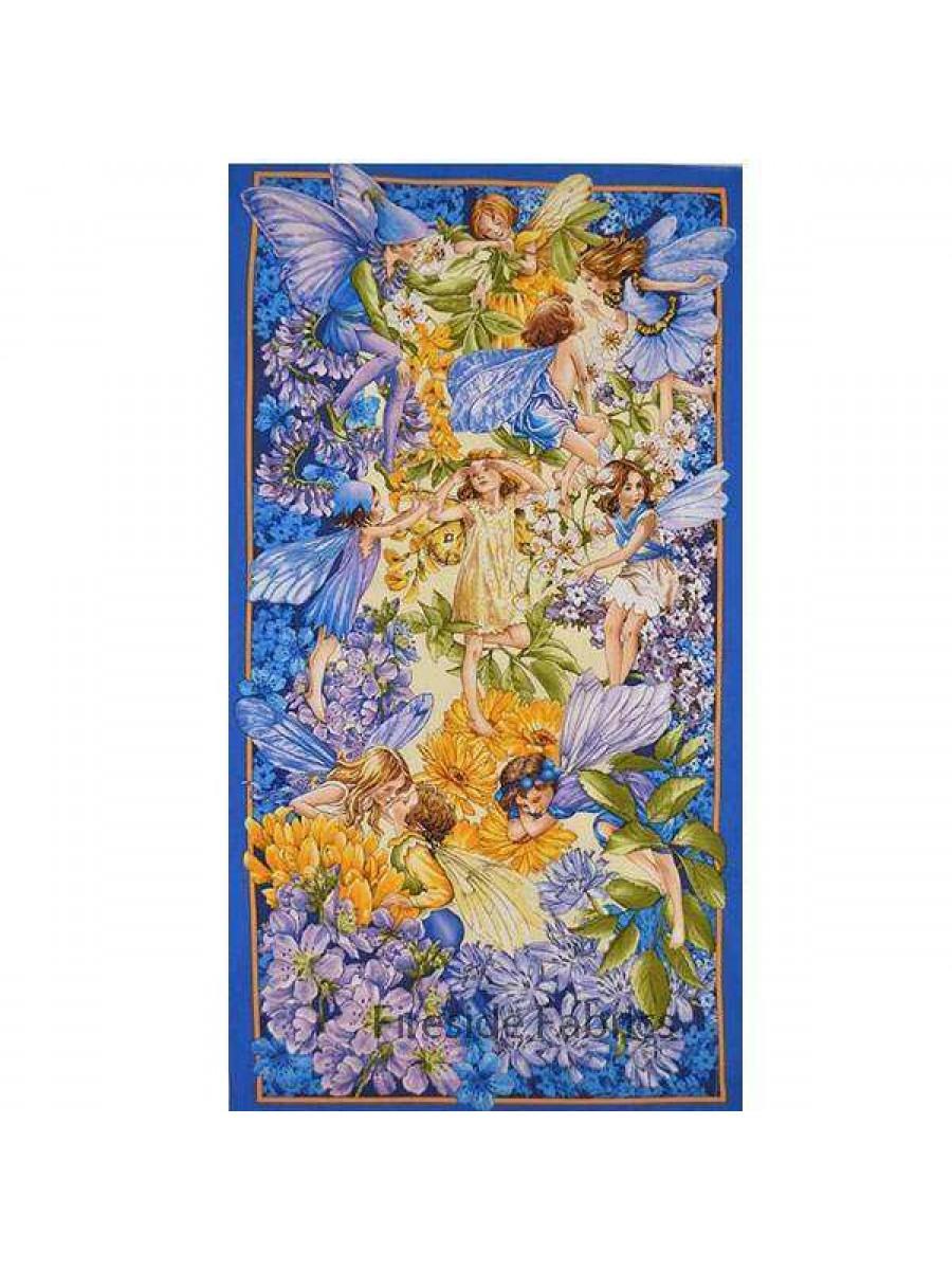 Dawn Till Dusk Flower Fairy Panel