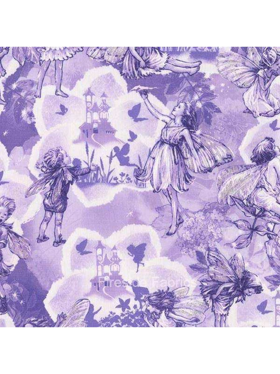 DREAMLAND FLOWER FAIRIES - FAIRY - LILAC