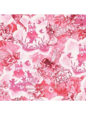DREAMLAND FLOWER FAIRIES - FAIRY - PINK