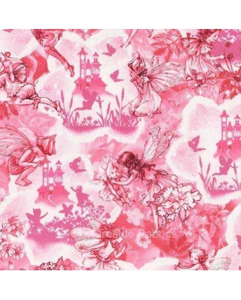 DREAMLAND FLOWER FAIRIES - FAIRY - PINK