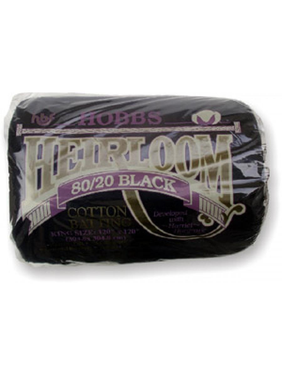 HOBBS HEIRLOOM BLACK - 80-20 - KING