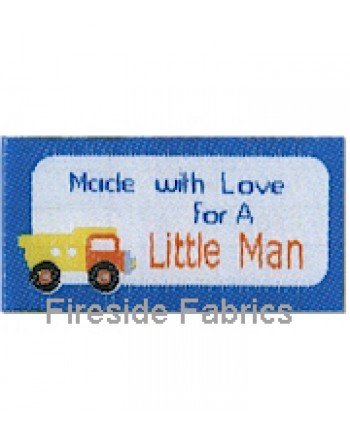 4 LABELS - MADE WITH LOVE FOR A LITTLE MAN