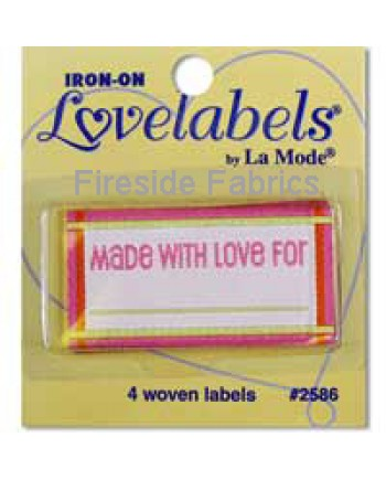 4 LABELS - MADE WITH LOVE FOR - PINK