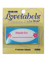 4 LABELS - MADE FOR