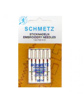SCHMETZ MACHINE NEEDLES - EMBROIDERY 90-14